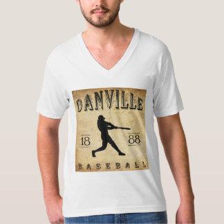 1888年のDanvilleイリノイの野球 Tシャツ