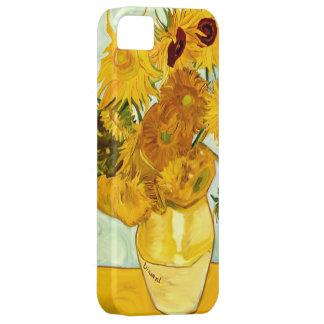 1888年を絵を描くフィンセント・ファン・ゴッホの黄色いヒマワリ iPhone SE/5/5s ケース