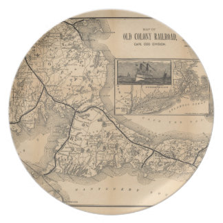 1888_Old_Colony_Railroad_Cape_Cod_map プレート