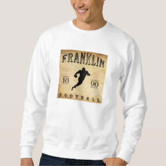 1890年のフランクリンペンシルバニアフットボール スウェットシャツ