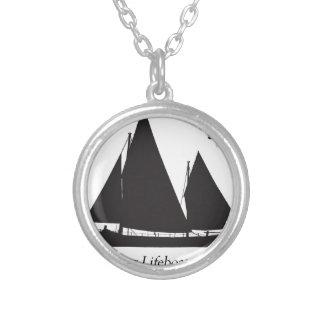 1891年の航海の救命ボート-贅沢なfernandes シルバープレートネックレス