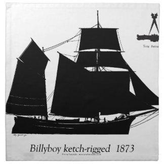 1891年Billyboy -贅沢なfernandesの ナプキンクロス