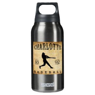 1892年のシャーロットノースカロライナの野球 断熱ウォーターボトル