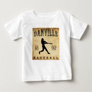 1892年のDanvilleケンタッキーの野球 ベビーTシャツ