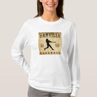 1892年のDanvilleケンタッキーの野球 Tシャツ