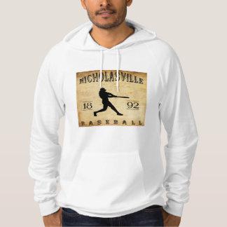 1892年のNicholasvilleケンタッキーの野球 パーカ