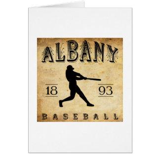 1893年のアルバニーオレゴンの野球 カード