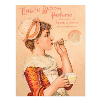 1893年のシナノキの開花の香水 ポストカード