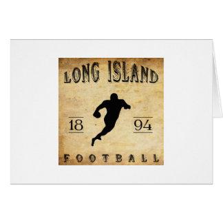 1894ロングアイランドのニューヨークのフットボール カード