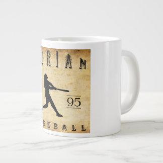 1895年のエイドリアンミシガン州の野球 ジャンボコーヒーマグカップ