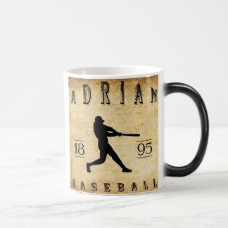 1895年のエイドリアンミシガン州の野球 モーフィングマグカップ