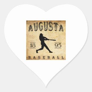 1895年のオーガスタメインの野球 ハートシール