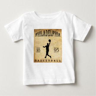 1895年のフィラデルヒィアペンシルバニアのバスケットボール ベビーTシャツ
