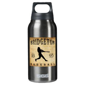 1895年のBridgetonニュージャージーの野球 断熱ウォーターボトル