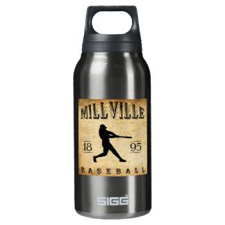1895年のMillvilleニュージャージーの野球 断熱ウォーターボトル
