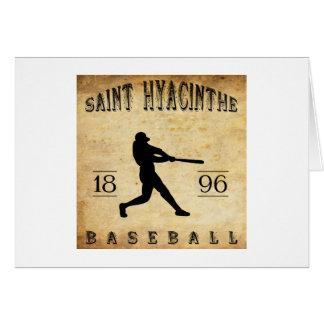 1896年の聖者のHyacintheケベックカナダの野球 カード