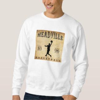 1896年のMeadvilleペンシルバニアのバスケットボール スウェットシャツ