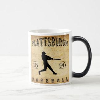 1896年のPlattsburghニューヨークの野球 モーフィングマグカップ