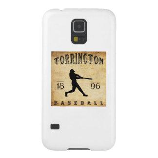 1896年のTorringtonコネチカットの野球 Galaxy S5 ケース