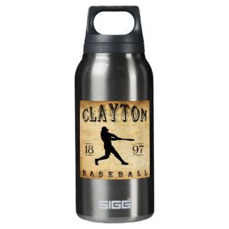 1897年のClaytonニュージャージーの野球 断熱ウォーターボトル