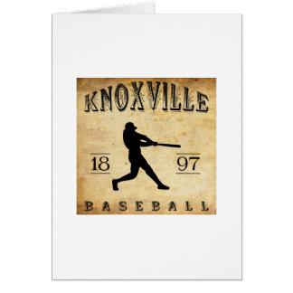 1897年のKnoxville Tenneseeの野球 カード