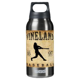 1897年のVinelandニュージャージーの野球 断熱ウォーターボトル