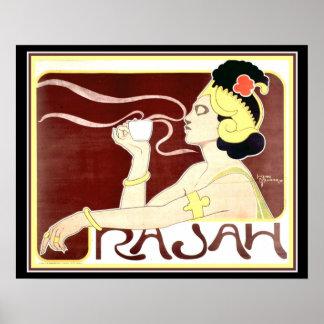 1897 Art Nouveau Rajah Print  by Henri Meunier ポスター