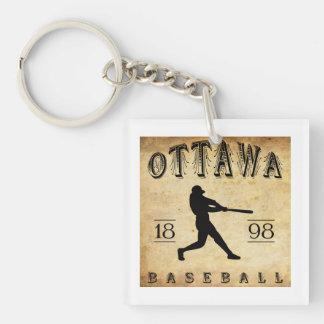 1898年のオタワオンタリオカナダの野球 キーホルダー