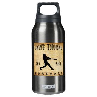 1898年のセントトマスオンタリオカナダの野球 断熱ウォーターボトル