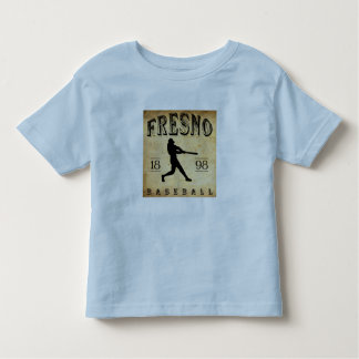 1898年のフレズノカリフォルニアの野球 トドラーTシャツ