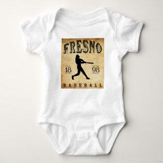 1898年のフレズノカリフォルニアの野球 ベビーボディスーツ