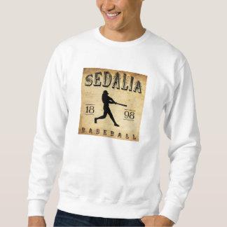 1898年のSedaliaミズーリの野球 スウェットシャツ