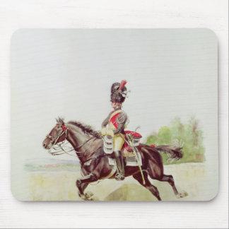 1898年馬上の帝国監視の兵士 マウスパッド