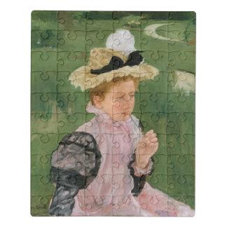 1899年頃若い女の子のポートレート、 ジグソーパズル
