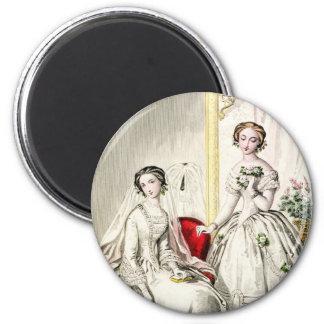 19世紀な結婚式 マグネット