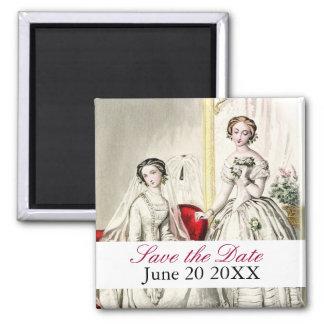 19世紀なWedding_Save日付の磁石 マグネット