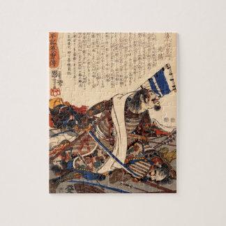19世紀頃戦争の武士 ジグソーパズル