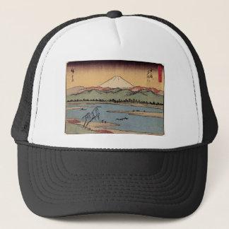19世紀頃日本の富士山 キャップ