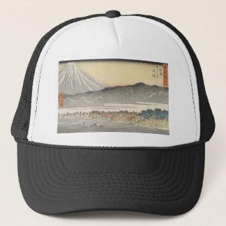 19世紀頃日本の美しい富士山 キャップ