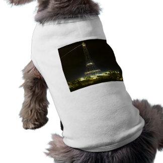 1900年のパリ博覧会で照らされるエッフェル塔 ペット服