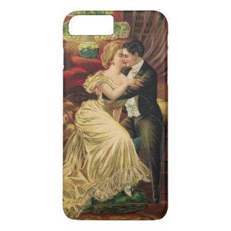 1900年代の旧式なバレンタインのSmartphoneの例 iPhone 7 Plusケース