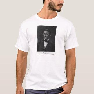 1901年にラルフ・ワルド・エマーソンのポートレート Tシャツ