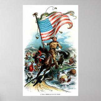 1902年のセオドア・ルーズベルト ポスター