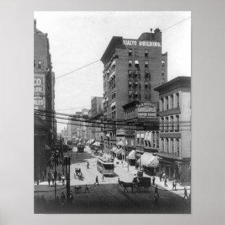 1903第4 Stセントルイスミズーリのプリント ポスター