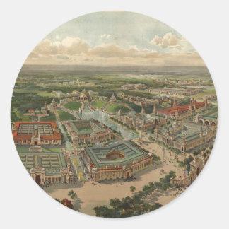 1904年のセントルイスの万国博覧会 ラウンドシール