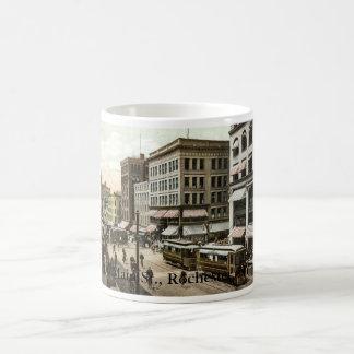 1906主要なSt.、ロチェスター、NY コーヒーマグカップ