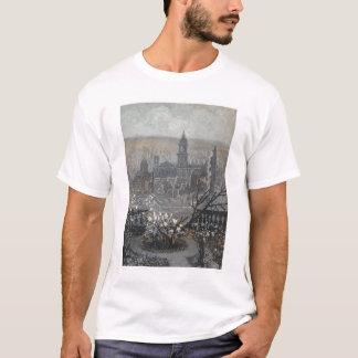 1906年の地震および火(1190年)の後のSF Tシャツ
