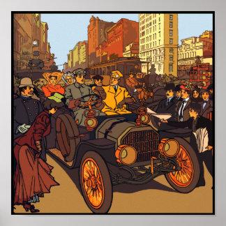 1907年のOlds ポスター