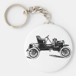 1909マックスウェルの自動車のイラストレーション キーホルダー
