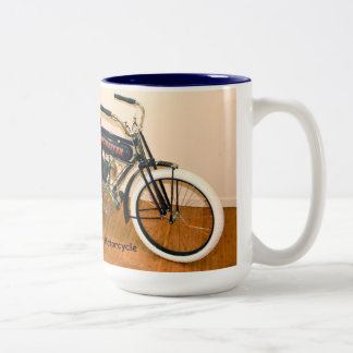 1910年のウィンチェスターのオートバイ ツートーンマグカップ